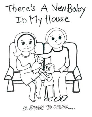 Coloring Pages New Baby at GetDrawings.com | Free for personal use ...