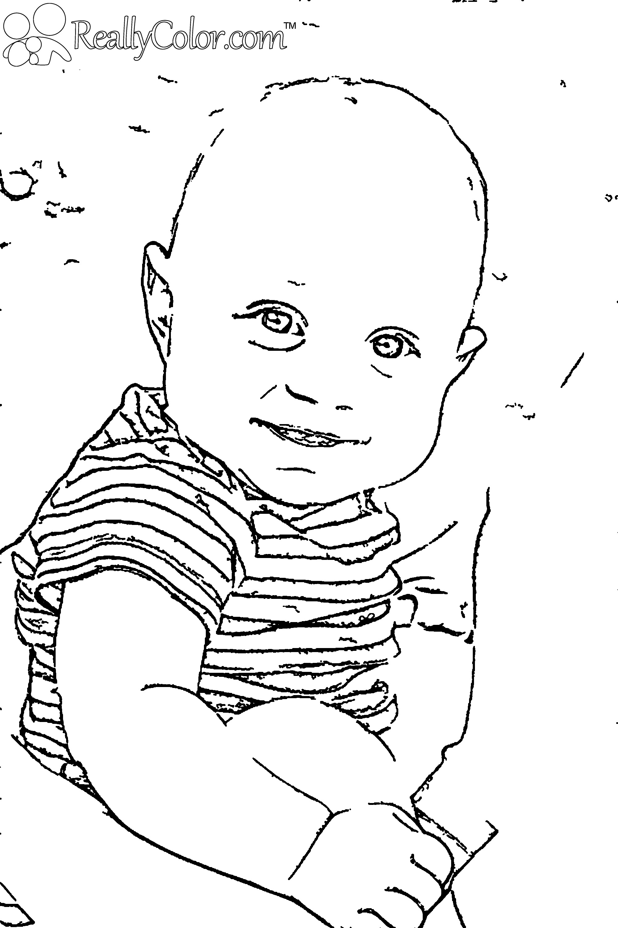 2000x3000 Baby Boy Coloring Pages