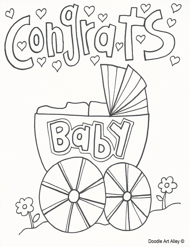618x800 Baby Coloring Pages