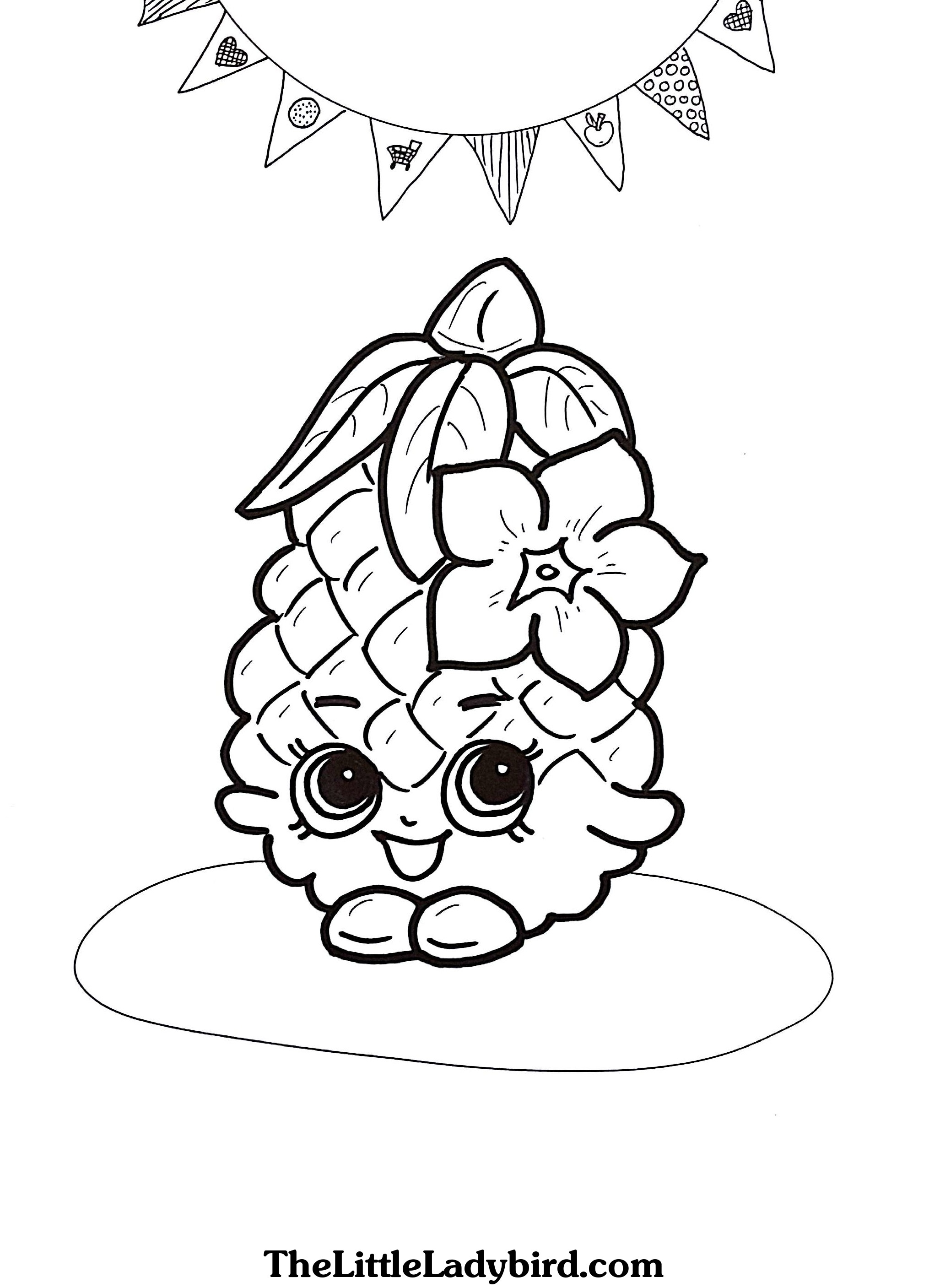 2030x2814 Printable Coloring Pages For Shopkins That Are Not Small
