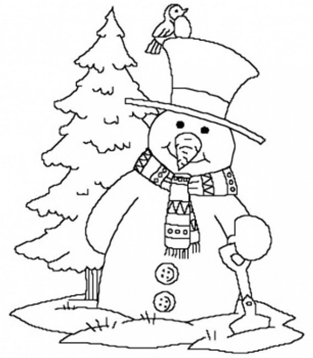 1049x1200 Whether It Is Winter Or Not Winter Theme Coloring Pages Would Be