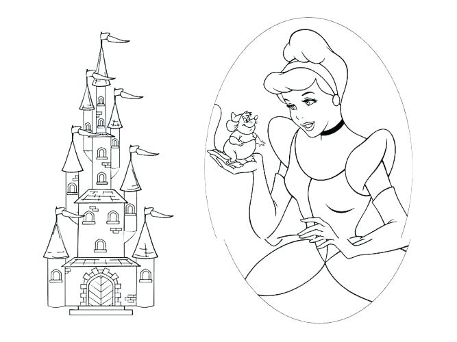 667x500 Coloring Page Castle Coloring Pages Castle Coloring Page Pages