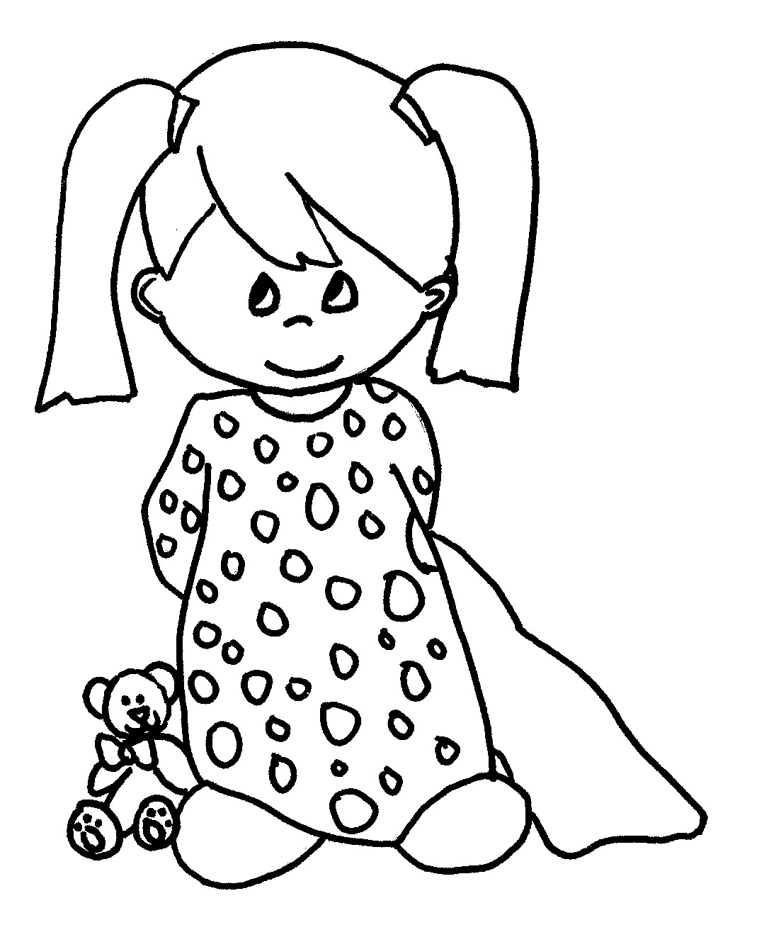 1086x1329 Baby Girl Coloring Pages Baby Girl Baby Boys Colouring Pages