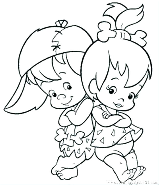 650x755 Baby Girl Coloring Pages