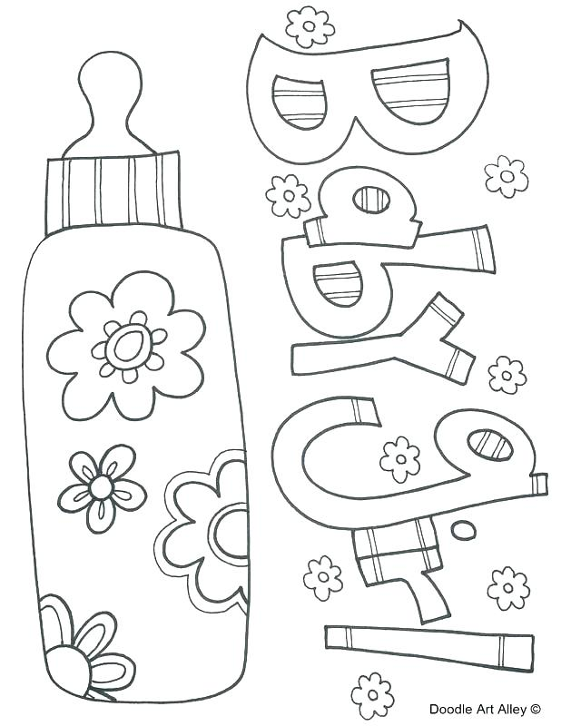 618x800 Baby Shower Coloring Pages Also Baby Shower Coloring Pages Baby