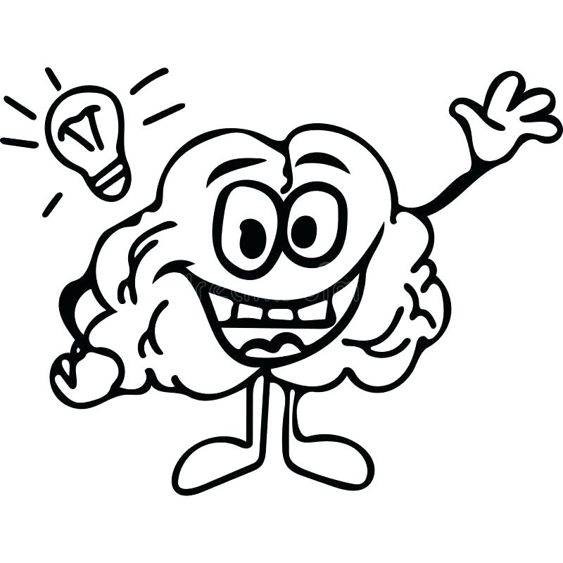 It's just a photo of Monster brain coloring pages