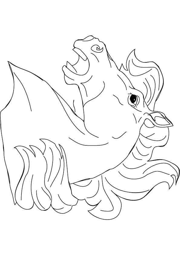 595x842 Horse Head Coloring Page Download Free Horse Head Drawing Page