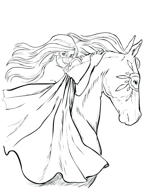 618x800 Horse Head Coloring Pages Realistic Horse Coloring Pages Realistic