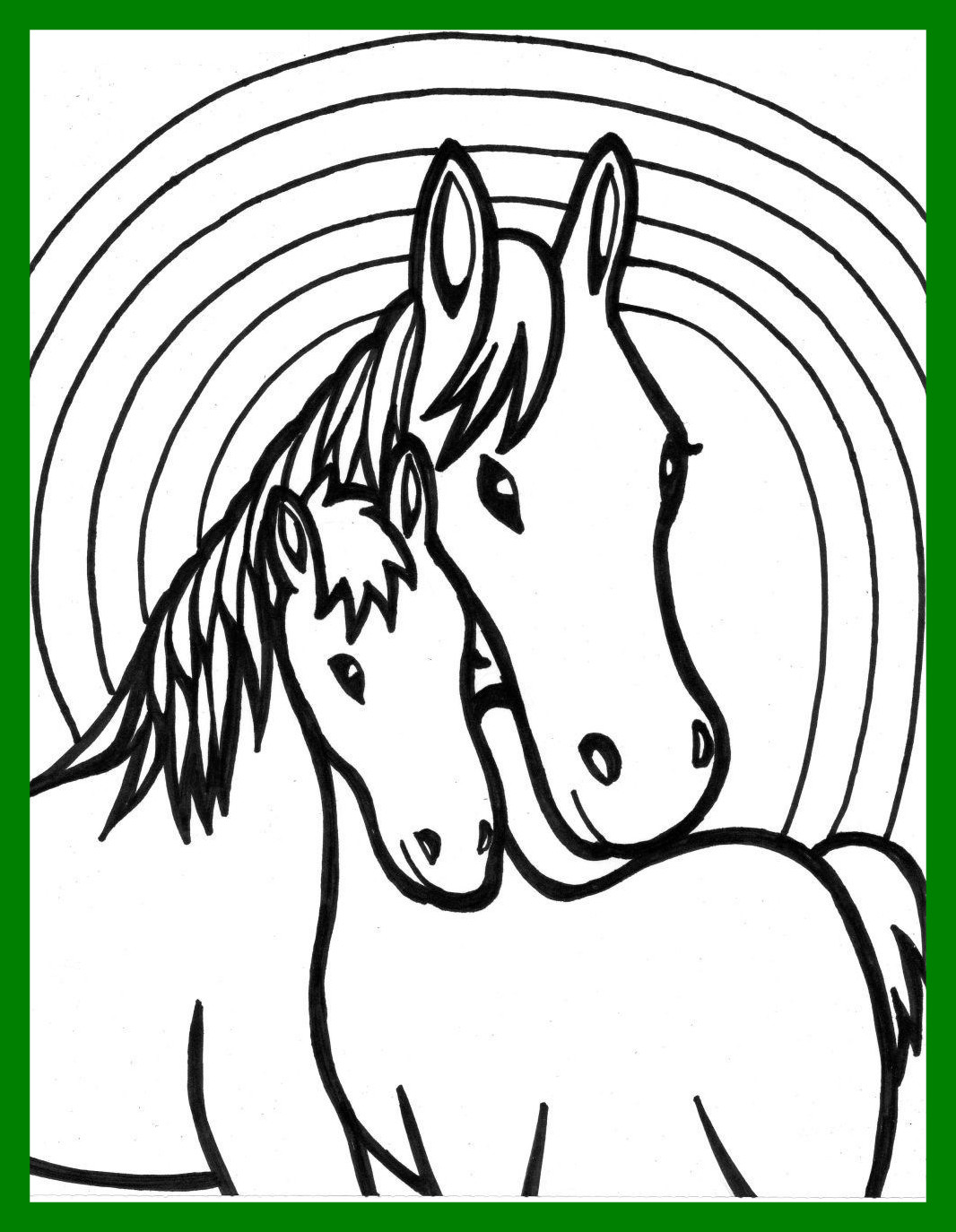 1066x1374 Best Coloring For Kids Pic Of Horse Head Page Ideas And Concept