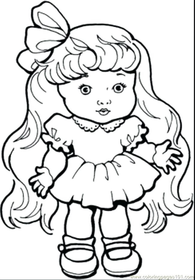 650x932 Coloring Pages For Girls Cute Girl Coloring Pages To Download