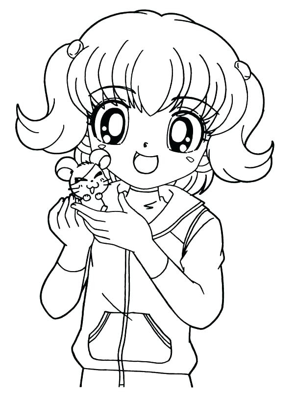 600x809 Coloring Pages Of A Little Girl Princess Coloring Pages For Girls