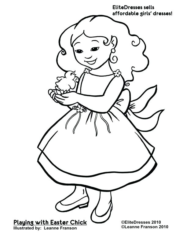 612x792 Little Girl Coloring Pages Bath Little Cat And Little Girl Bath