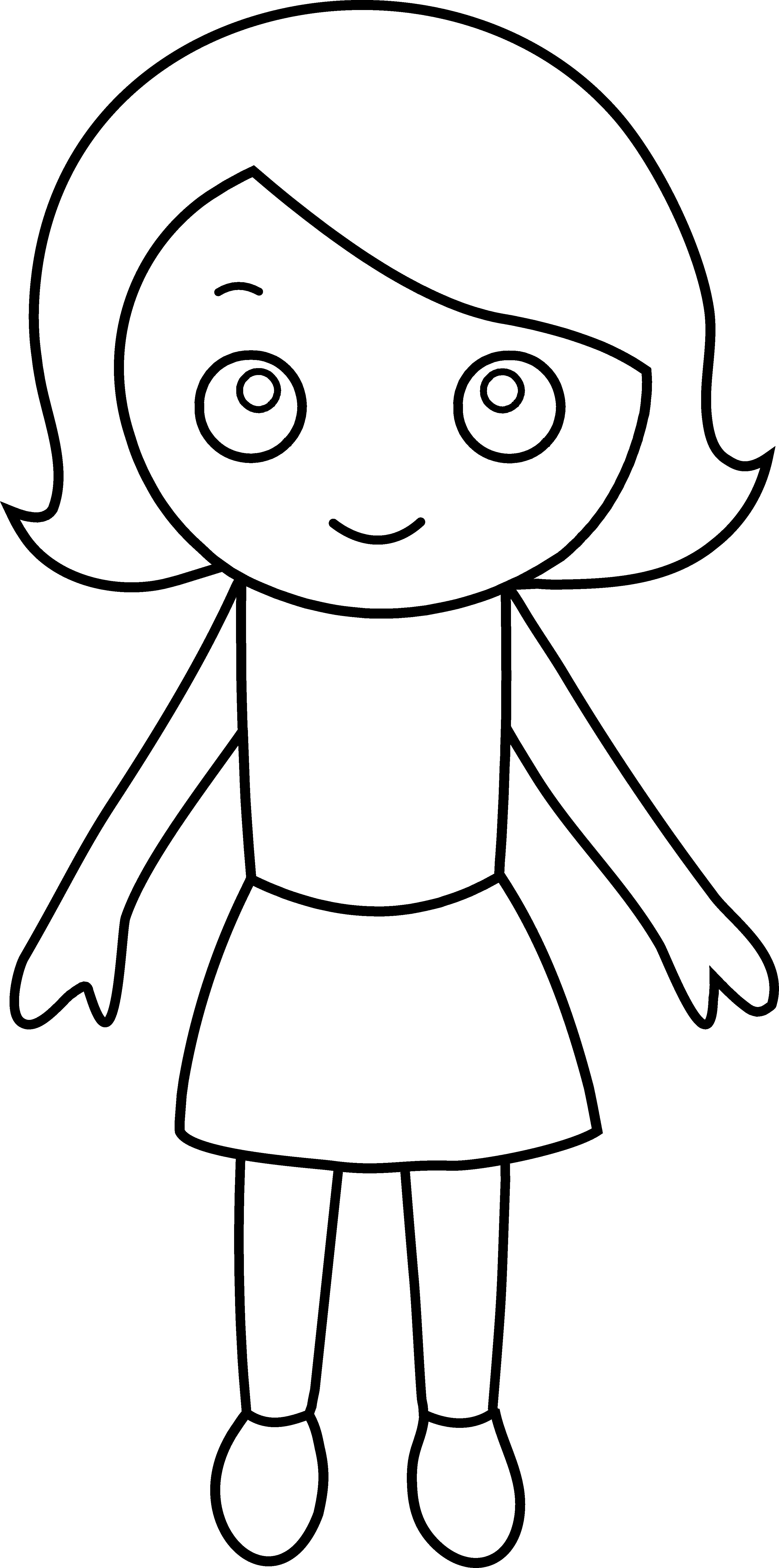 3261x6568 Little Girl Coloring Pages Little Girl Coloring Page Trend