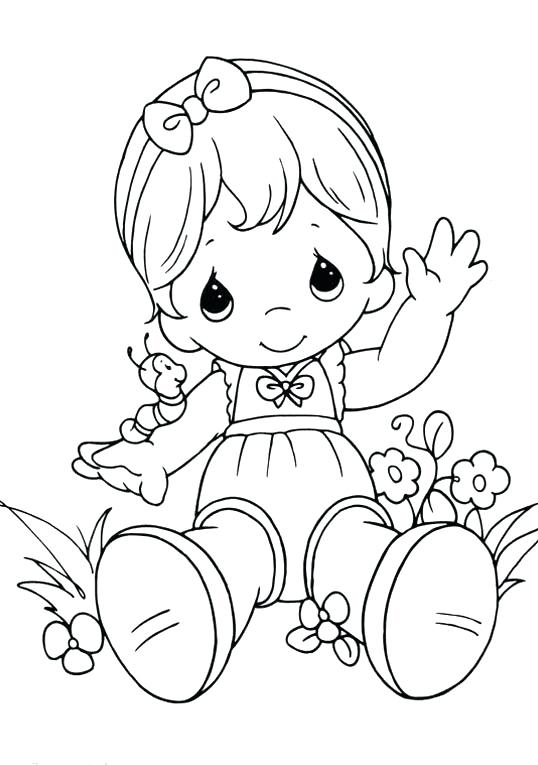 538x765 Baby Coloring Pages Baby Coloring Pages Child Coloring Pages