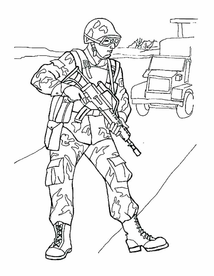 700x900 Soldier Coloring Pages Soldier Coloring Pages Soldier Coloring