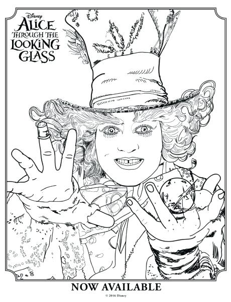 460x600 Alice In Wonderland Characters Coloring Pages Alice In Wonderland