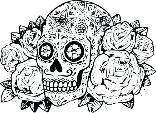 500x362 Hard Animal Coloring Pages Abstract Animals Coloring Pages Free