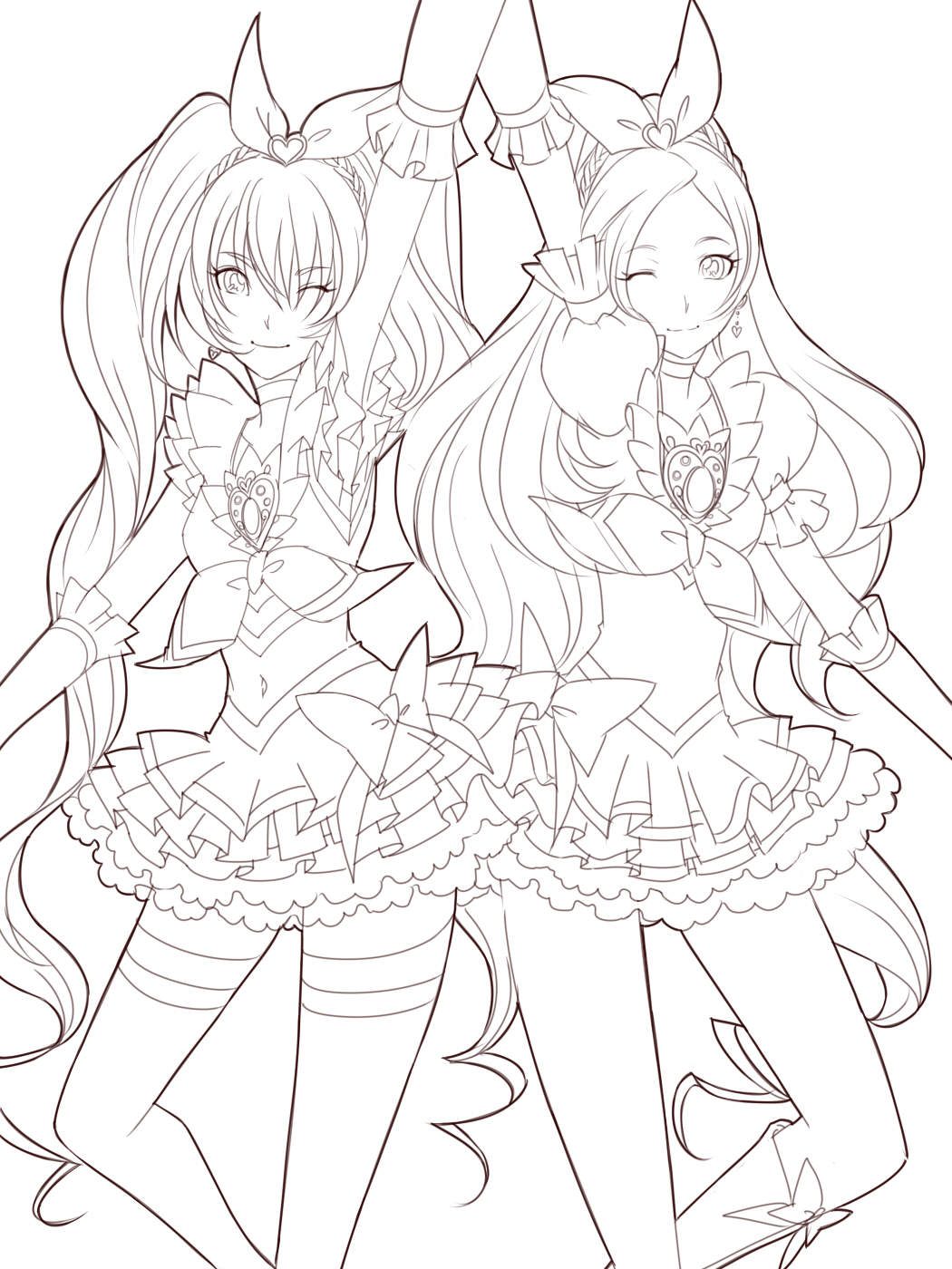 1050x1400 Coloring Pages Anime