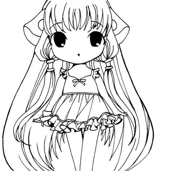 600x600 Anime Coloring Page Print Coloring Pages Coloring Pages