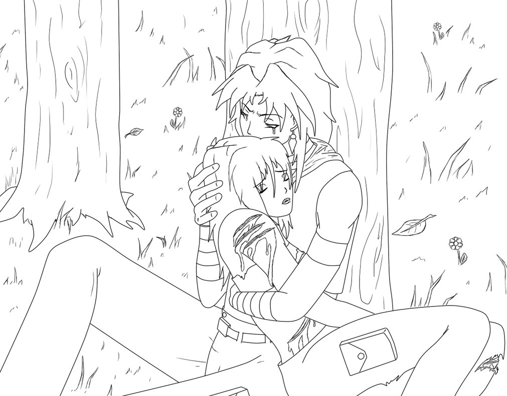 Coloring Pages Of Anime Couples At Getdrawings Com Free For