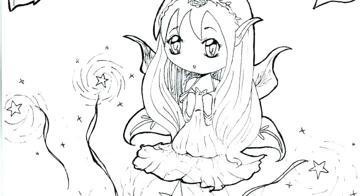 728x393 Anime People Coloring Pages Printable Coloring Page Of Cute Anime