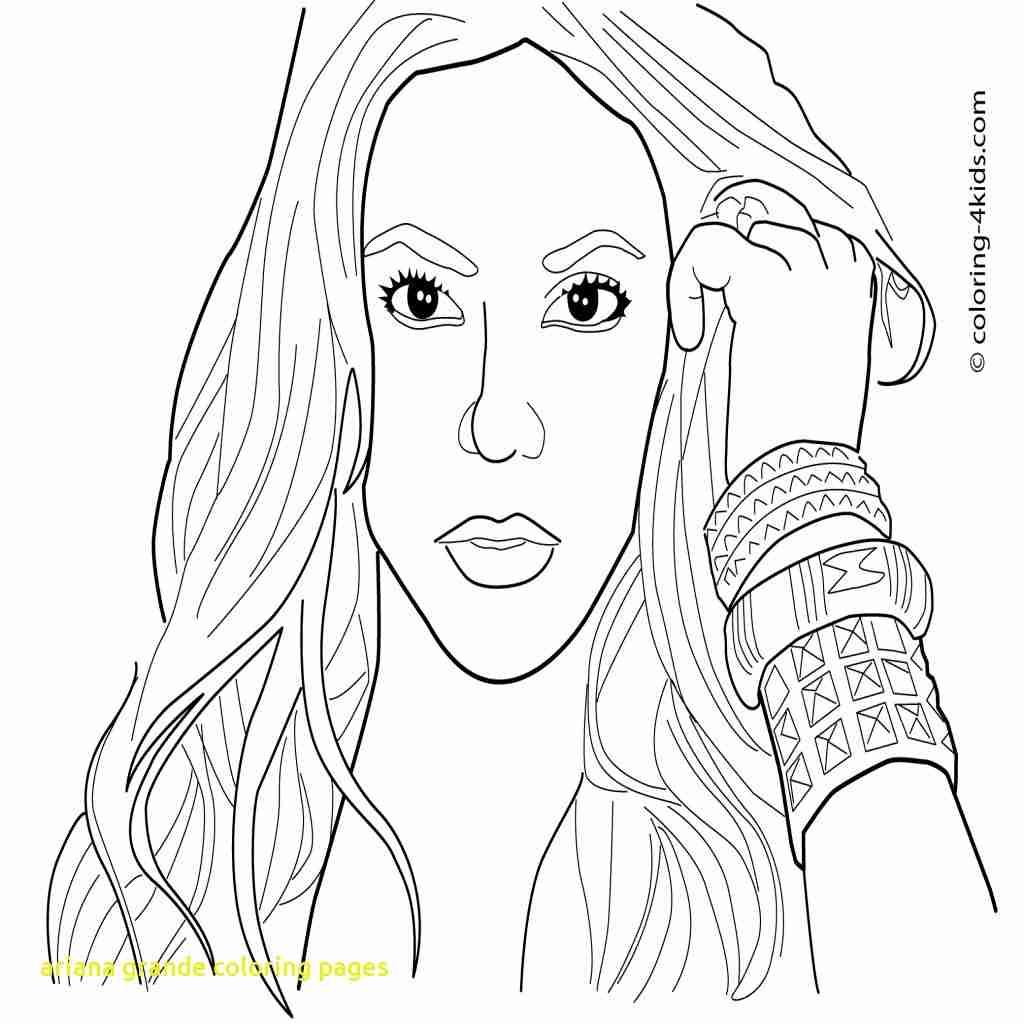 1024x1024 Ariana Grande Coloring Pages Simple Olegratiy