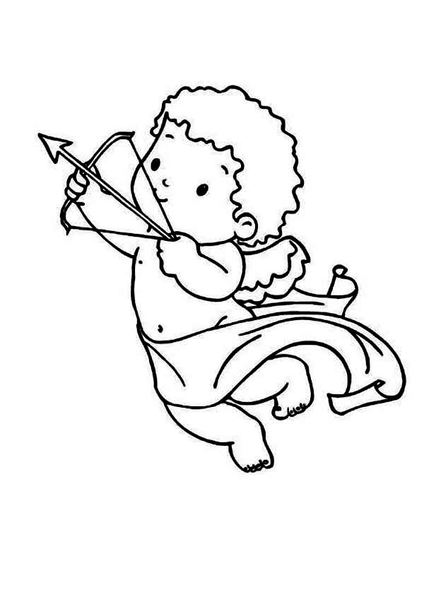 600x852 Cute Cupid Coloring Pages