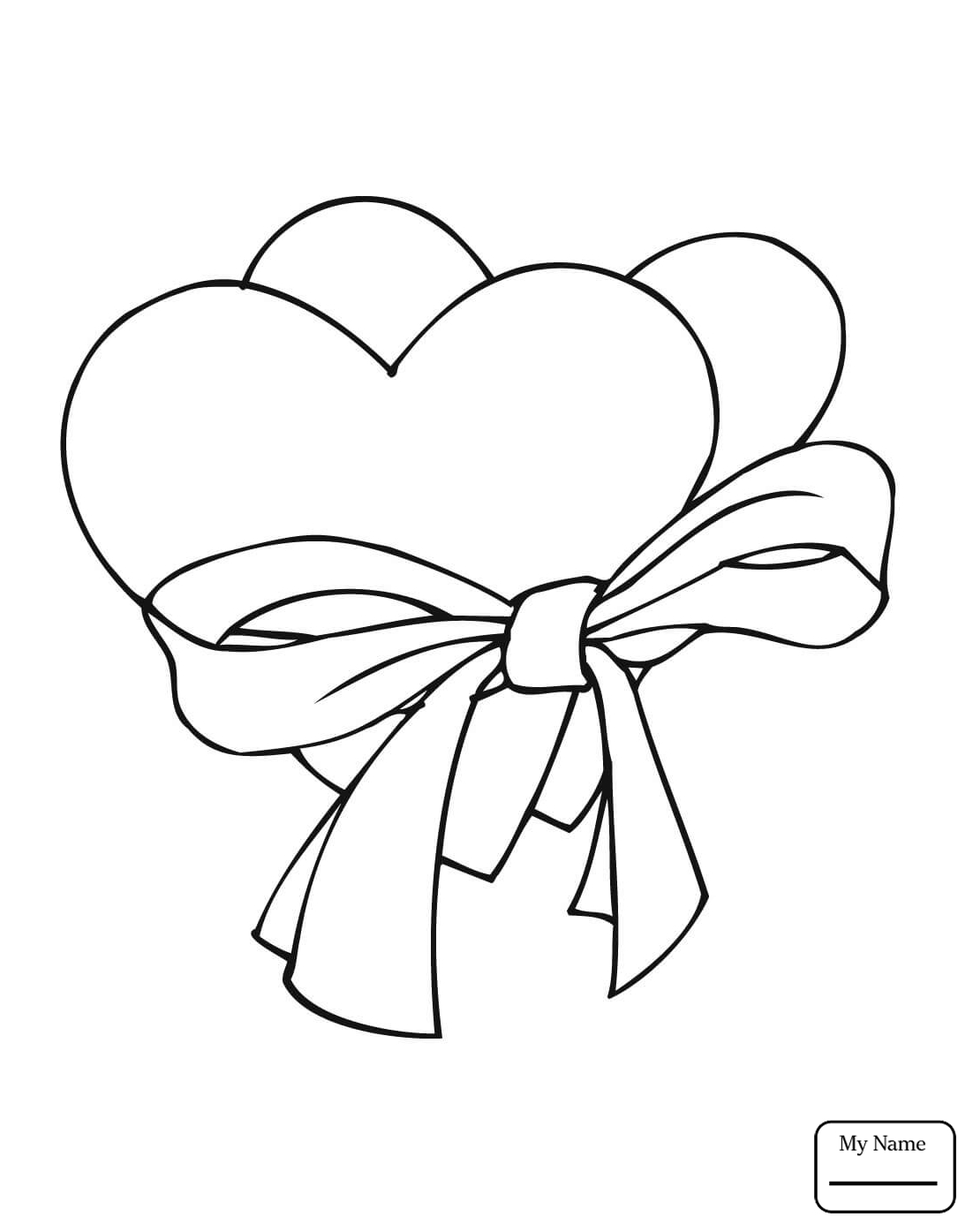 1102x1395 Heart With Arrow Coloring Pages Bow And For Kids Hearts