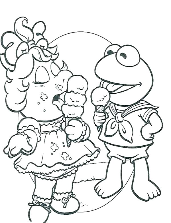 600x781 Muppet Babies Coloring Pages Babies Coloring Pages Coloring Pages