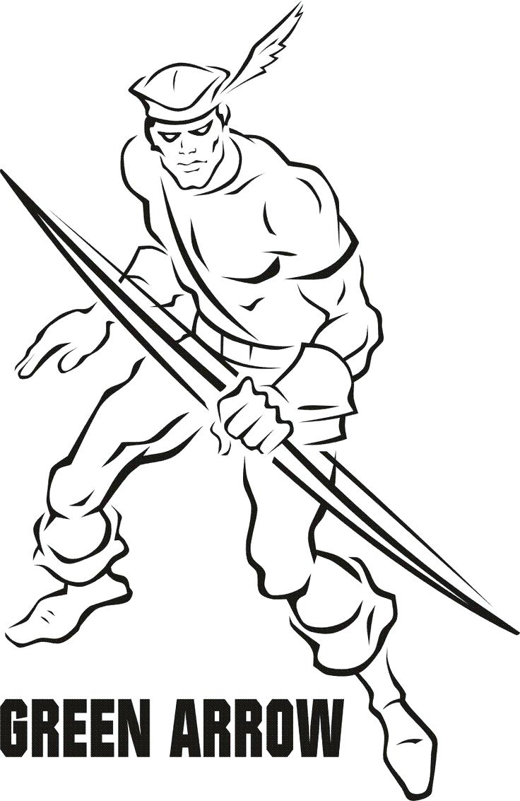 736x1133 Coloring Page Green Arrow Coloring Pages The Logo Page Green