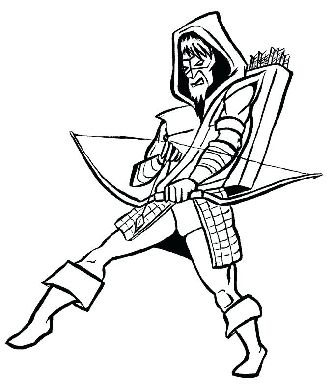 676x783 Arrow Coloring Pages Beauteous Green Arrow Coloring Pages Cool
