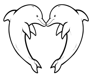 400x322 Baby Dolphin Coloring Pages Page Image Clipart Images