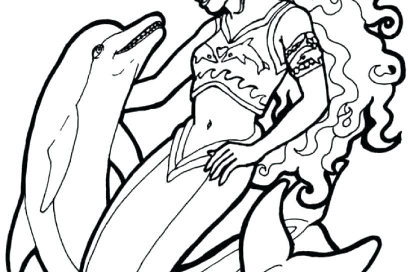 837x544 Dolphin Pictures To Color With Dolphin Coloring Pages And Crafts