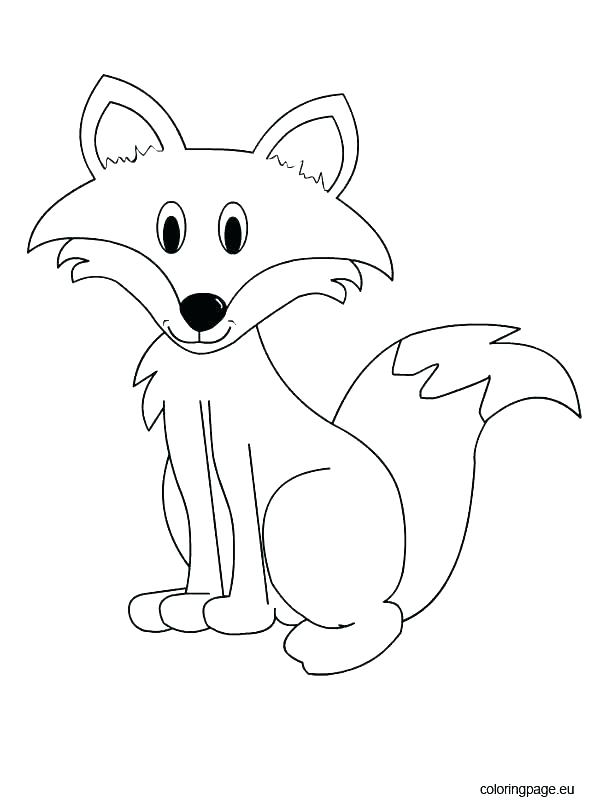 595x804 Red Fox Coloring Pages Fox Coloring Pages Packed With Fox Coloring