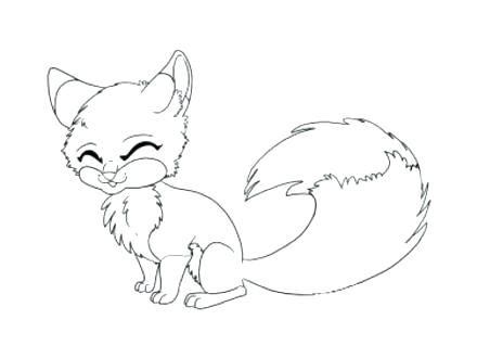 440x330 Baby Fox Coloring Pages Coloring Pages Fox For Fox Colouring Pages