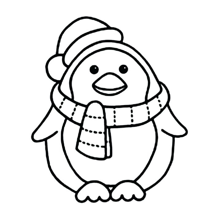 700x700 Coloring Pages Baby Penguins Coloring Pages Of Penguins Special