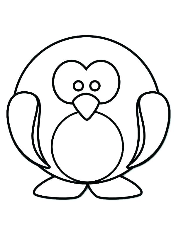 600x800 Penguin Coloring Book Winter Penguin Coloring Pages Baby Penguin