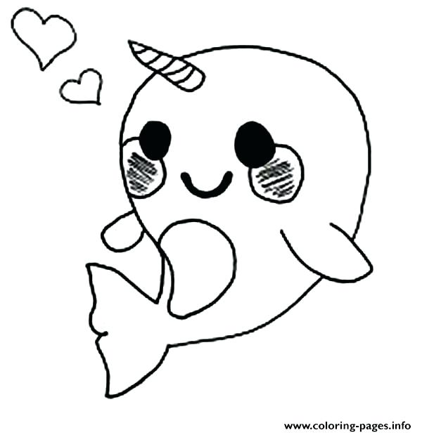 600x619 Cute Baby Penguin Coloring Pages