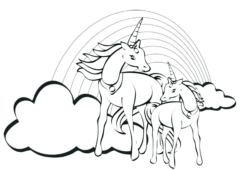 1024x712 Cute Cartoon Unicorn Coloring Pages Cute Unicorn Coloring Sheets