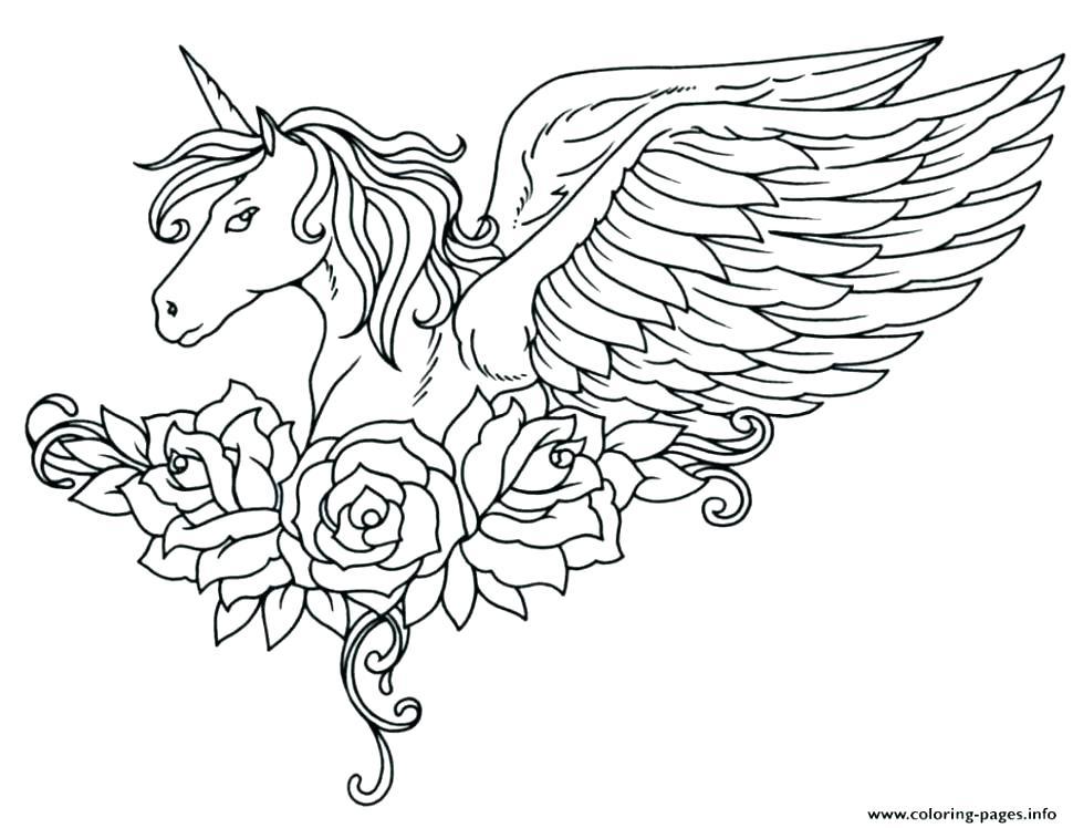 970x748 Cute Unicorn Coloring Pages Unicorn Color Sheet Unicorn Coloring