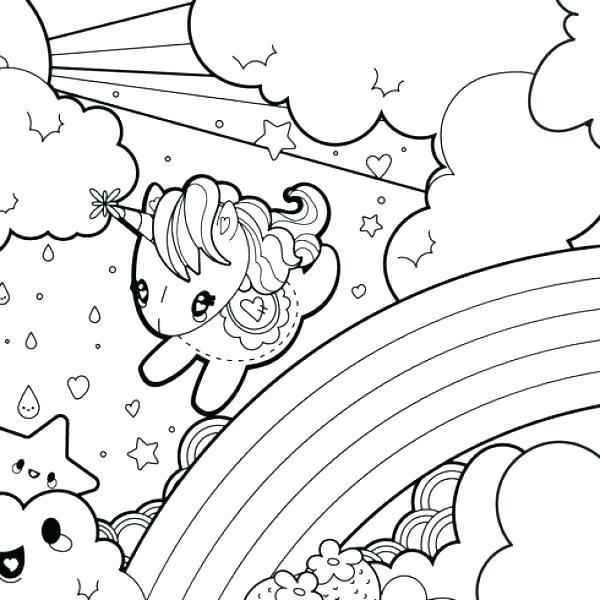 600x600 Free Unicorn Coloring Pages Baby Unicorn Coloring Pages Unicorn