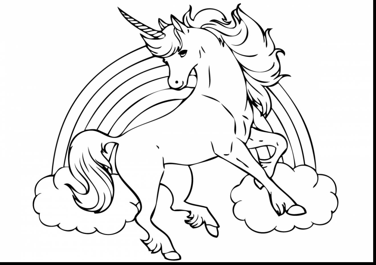 1320x932 Unicorn Coloring Page Baby Unicorn Coloring Pages Picture