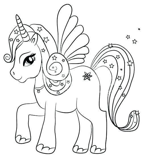 506x556 Coloring Pages Unicorns Pictures Of Unicorns To Color Unicorn
