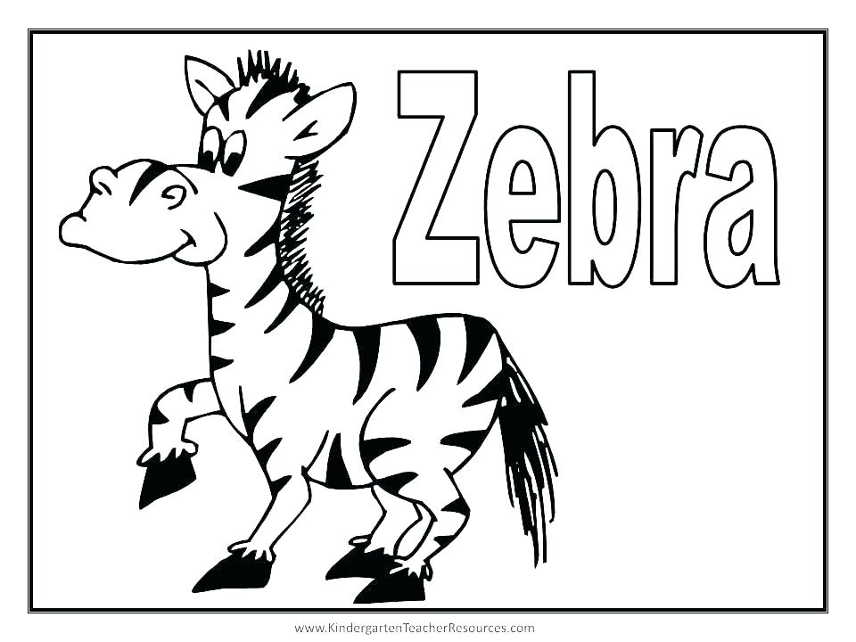 960x720 Coloring Pages Of Zebras Coloring Pages Zebra Zebra Color Sheet