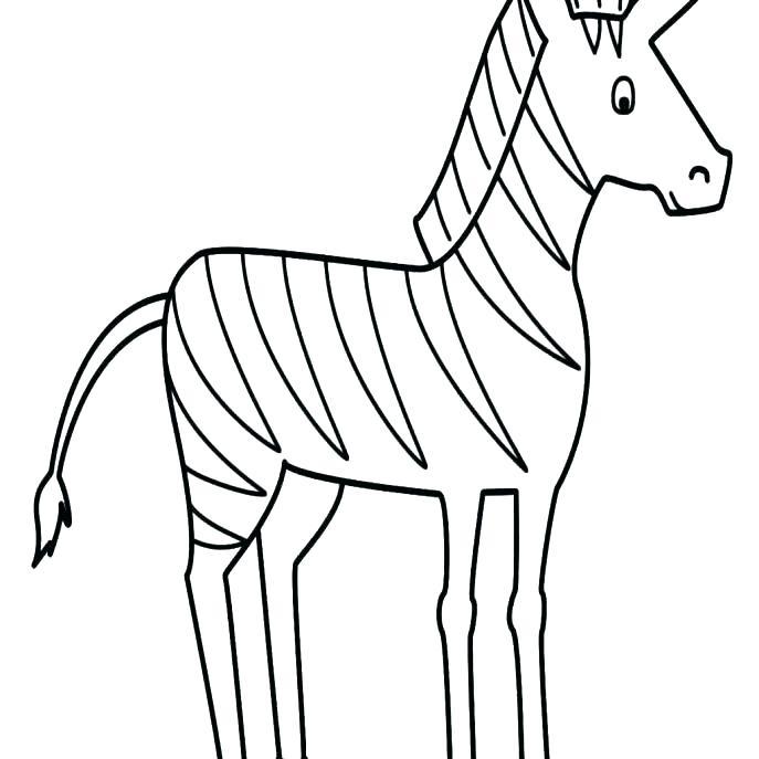 687x687 Zebra Color Sheet Printable Zebra Zebra Coloring Pages Free Zebra