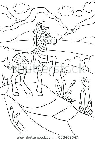 318x470 Baby Zebra Coloring Pages Zebra Coloring Pages Spectacular Zebra
