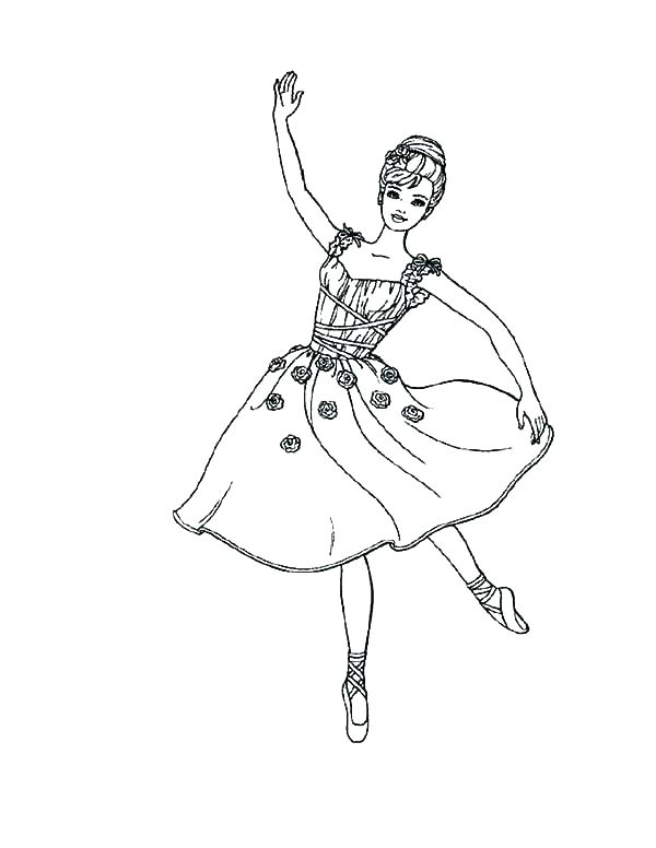 600x776 Ballet Colouring Pages Free Ballerina Coloring Pages Ballet