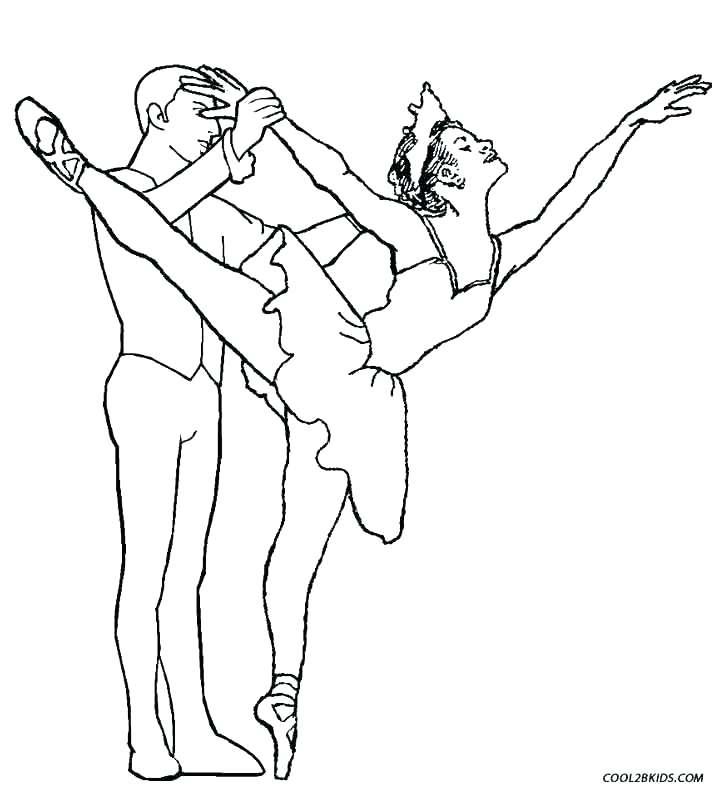 719x794 Jazz Dance Coloring Sheets Ballet Dancer Pages Ballet Second