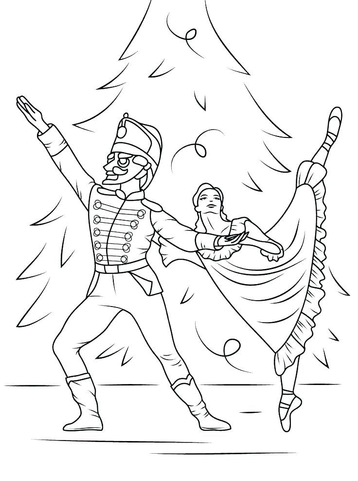 736x987 Ballerina Coloring Book Pages Ballet Dancer Coloring Pages Free