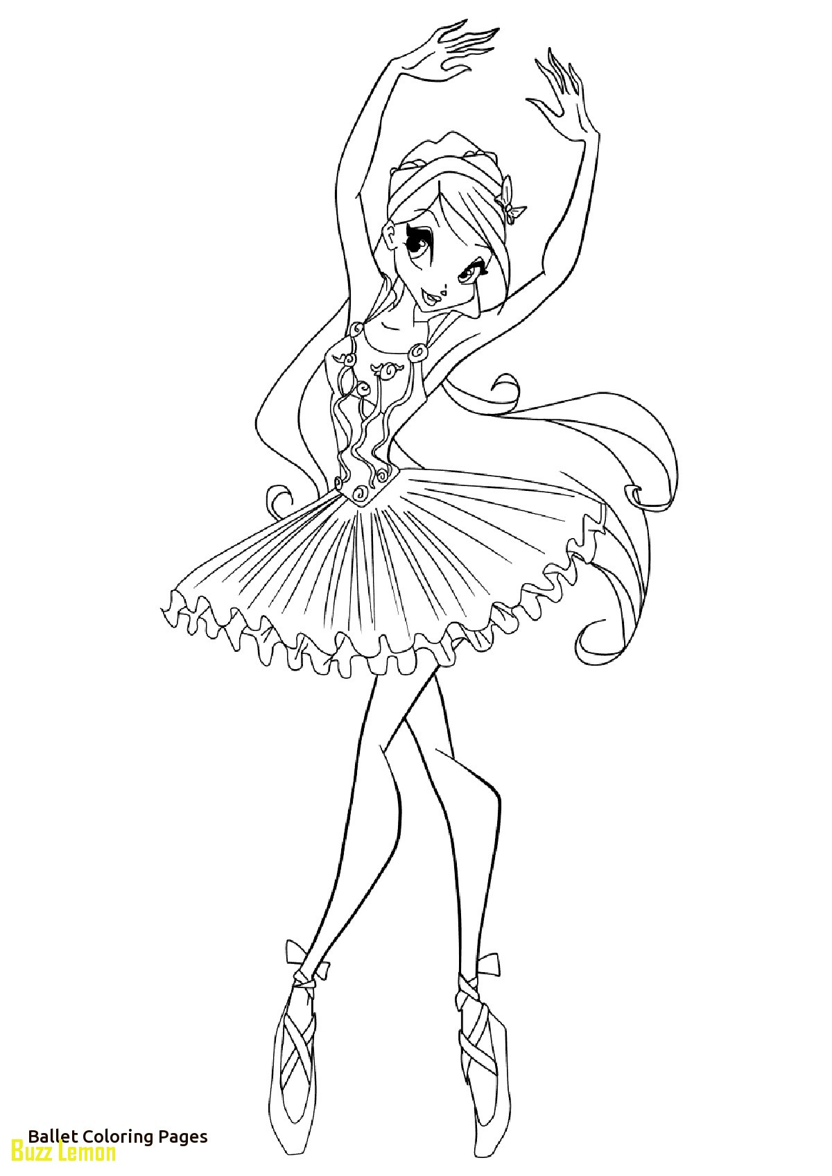 1200x1696 Ballet Coloring Pages Lovely Ballerina Color Pages Cartoon